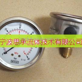 不锈钢压力表WIKA