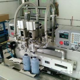1-5L全自动液体定量灌装机 全自动防爆称重灌装机