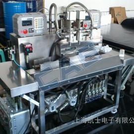 5L双头液体灌装机|自动称重灌装机 上海凯士电子有限公司