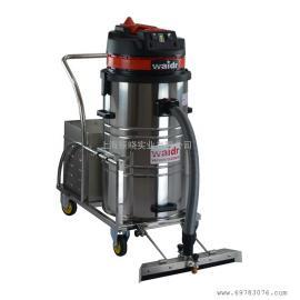 上海电瓶式无线吸尘器广场室外车库车间吸灰尘铁屑WD-80P