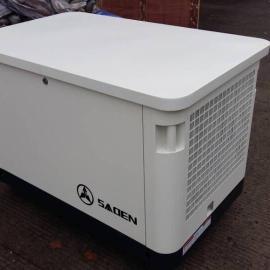 静音汽油发电机10KW移动式发电机