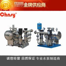 无负压变频供水设备_多级泵、稳流罐、气压罐、控制柜、管路阀门