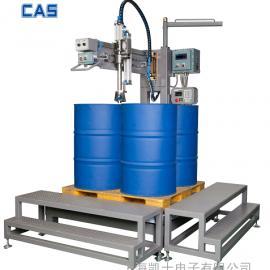 200升桶灌装机 甲醇甲苯灌装机 200升化工大桶灌装机
