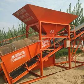 沙场专业小型筛沙机/滚筒筛沙机,价格优惠