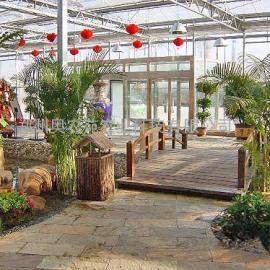 一亩生态餐厅温室造价