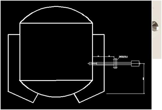 华宇牌高温环境振动式在线粘度计