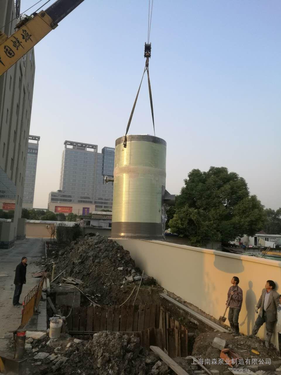 广西省一体化预制泵站