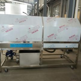 专业生产扇贝清洗机/海蛎子毛刷清洗机/诸城天翔专业清洗设备