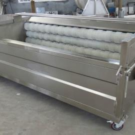 1500*1800*2000毛辊清洗机,1米8毛辊去皮清洗机,土豆去皮清洗机