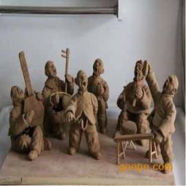 供甘肃兰州泥塑和天水人物泥塑
