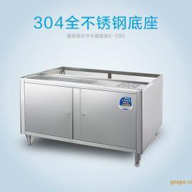 康丽源开水器底座 饮水机不锈钢支架 开水机配套过滤器 K-09D