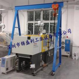 电动式龙门吊架,3吨上下左右全电动龙门架,车间模具吊架