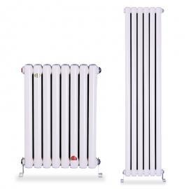 钢制椭圆管散热器@钢制圆管散热器 QFGZ2 钢二柱暖气片