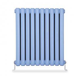 钢二柱散热器暖气片生产厂家直供 钢制柱形散热器 暖气片