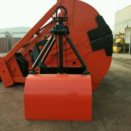 XCZZ7容积0.75立方超重型单绳悬挂抓斗物料抓斗抓煤斗