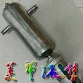 气水分离器-不锈钢汽水分离器-外螺纹汽水分离器