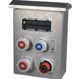 不锈钢工业插头插座基业箱 户外防水插座配电箱