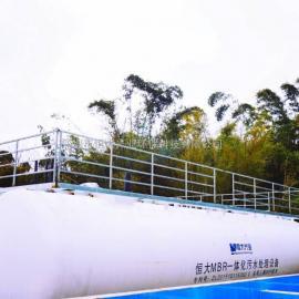 三菱MBR工艺一体化设备 日本三菱浸没式中空纤维膜组件