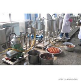 PLC可自动控制实验型果汁饮料生产线