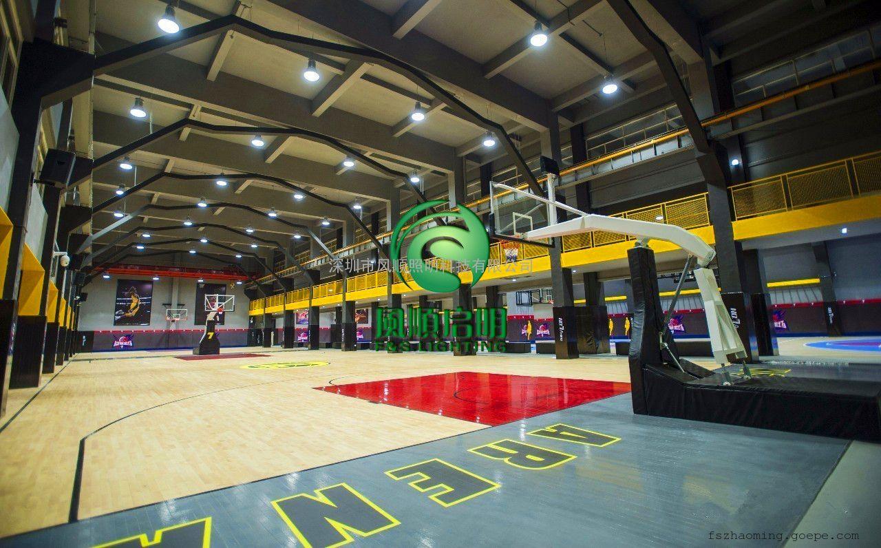 室内篮球场灯光设计 篮球场照明灯价格