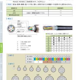 供应富士电线工业 �装用FKEV-SB系列对绞电缆