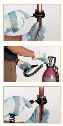 CST2暖气管道冷冻机,管道速冻,暖气管道带压封堵