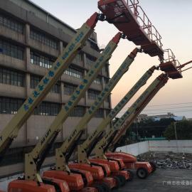 深圳出租高空作业车 深圳租赁曲臂式高空作业平台