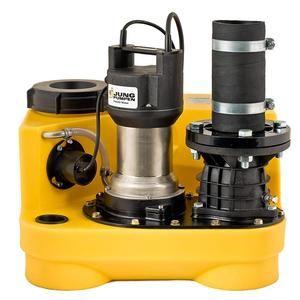 选德国进口污水提升器|马桶专用污水提升器|安装地下污水提升器