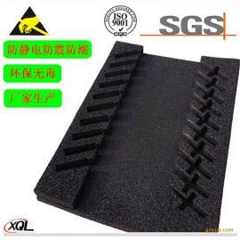 电子工厂原件泡棉材料内层防静电定制