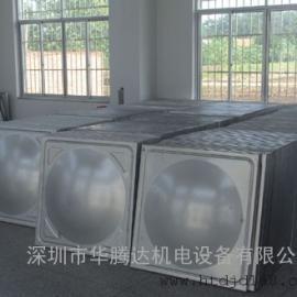 不锈钢人防水箱、玻璃钢人防水箱、战时备用水箱(厂家直接供应)