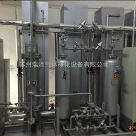制氮机提纯装置制氮机净化系统结构紧凑、全自动性能稳定、维护成