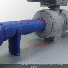 阀门保温套 工业设备保温衣 保温夹套球阀 软保温套 保温套厂家