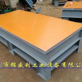 钢板表面铺电木板飞模台