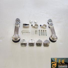 花键五金高机械强度不锈钢滑轮移门轨道吊轮批量供应01A对墙