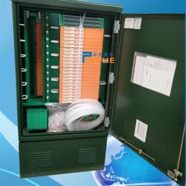 落地式216芯光缆交接箱又称免跳接216芯光交箱
