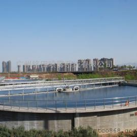广东造纸厂污水净化除臭一体气浮技术,沉淀池除臭设备