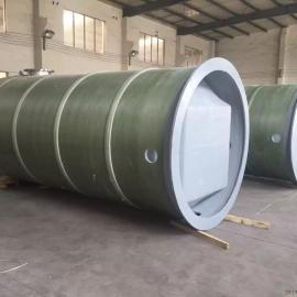 四川遂宁大英县3×10米一体化污水处理泵站