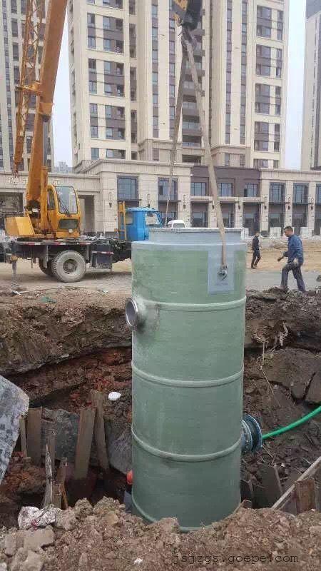 泰州淮安南通一体化污水提升泵站