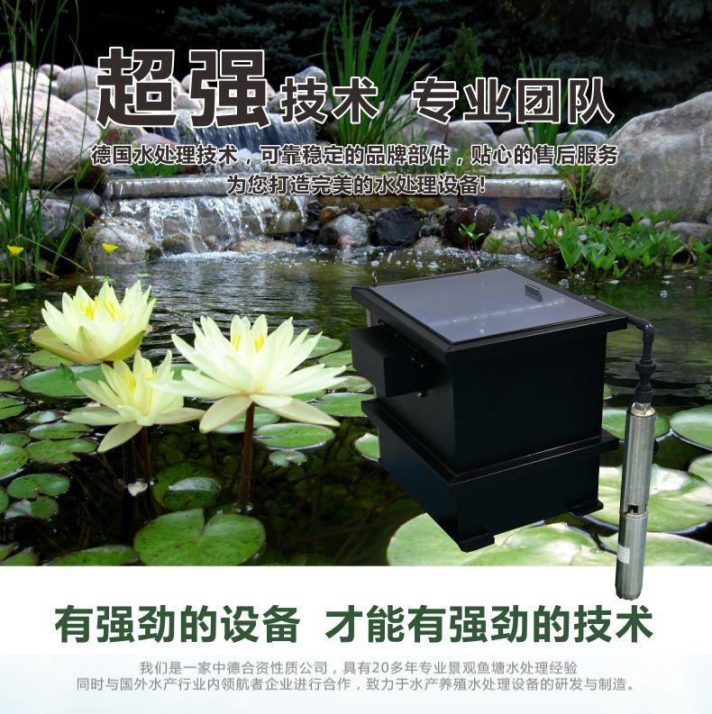 浙江别墅转鼓过滤水池、科图全自动内置式园林是陈路的系统谁图片