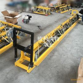可拆卸组合桥梁起拱用振动梁 耐用路面砼施工水泥平摊机
