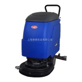 食品工业车间用电动洗地机 威德尔手推式洗地机BT-530