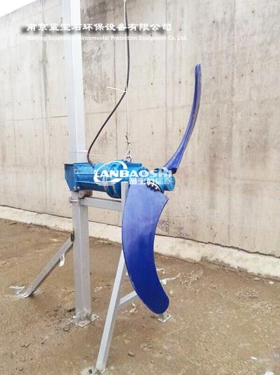 香蕉型搅拌机QJB1600/52-3kw潜水推流器