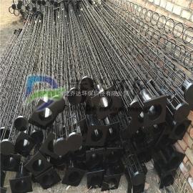 130*5000清灰器笼骨白灰厂有机硅清灰扁骨插接式扁骨
