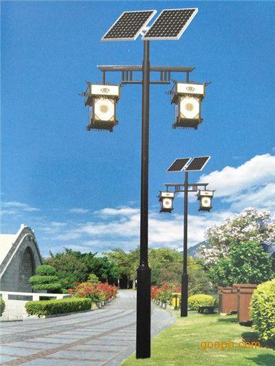 太阳能灯 太阳能灯户外景观庭院灯饰铝合金红外感应led壁灯路灯