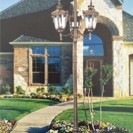 太阳能灯超亮人体感应灯户外庭院灯带杆室外照明一体化LED路灯