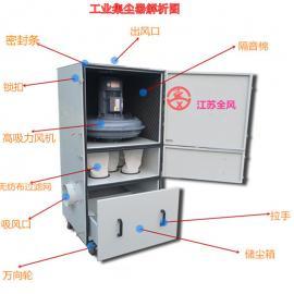 工业吸尘器 固定式磨床吸尘器