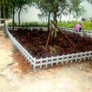 安徽巢湖pvc护栏厂巢湖草坪围栏厂家巢湖绿化带围栏厂