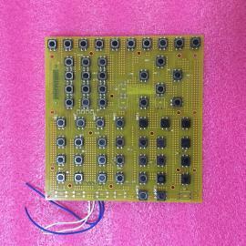 明震注塑机弘讯TECH1H电脑按键板TM2647km1