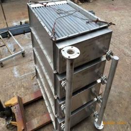 烘箱专用蒸汽换热器,绕片换热器