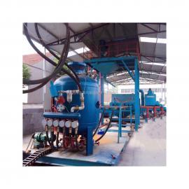 油管自动喷砂生产线管道喷砂机钢管喷砂机油管喷砂机